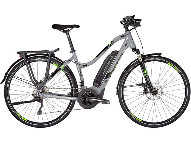 HAIBIKE SDURO Trekking 4.0 Damer, grey/black/green
